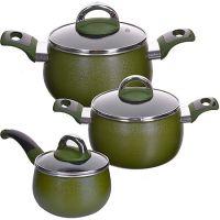 Набор посуды Mayer&Boch 6 предметов 1,6 л, 2,4 л, 3,4 л 27791