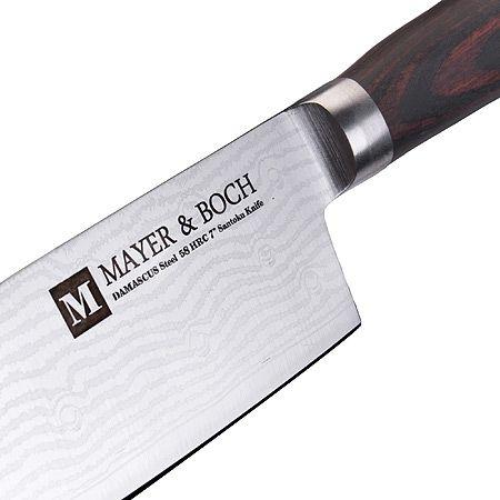Набор ножей Mayer&Boch 3 шт в упаковке кованные 28001