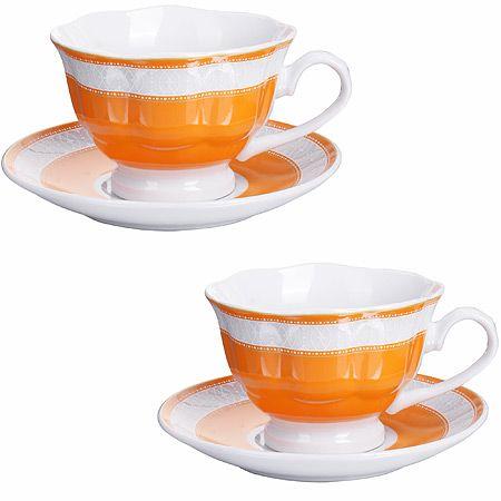 Чайная пара из 4-х предметов 220 мл LORAINE, 28645