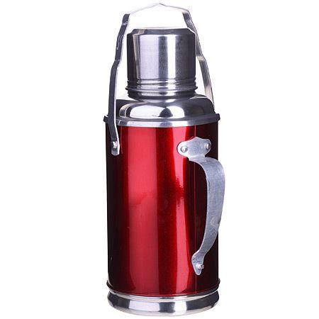 Термос SK 0,8 л металлический корпус со стеклянной внутри колбой Super Kristal/MayerBoch, MB-211