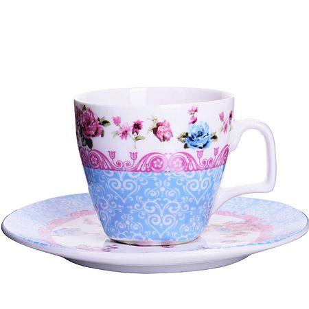 Кофейный набор Loraine «Бутон» 80 мл фарфоровый 24756