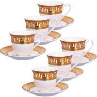 Кофейный сервиз Loraine 12 предметов 80 мл в подарочной упаковке 26439