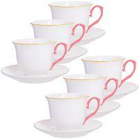 Чайный сервиз 12 предметов 220 мл LORAINE, в подарочной упаковке, 28602