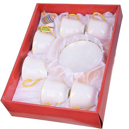 Чайный сервиз из 12 предметов 220 мл LORAINE, в подарочной упаковке, 28605