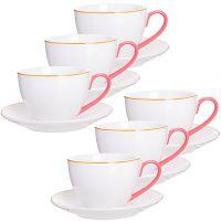 Чайный сервиз 12 предметов 220 мл LORAINE, в подарочной упаковке, 28608