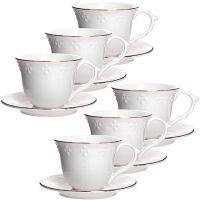Чайный сервиз 12 предметов 200 мл в подарочной упаковке LORAINE, 26829