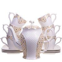 Чайный сервиз 13 предметов (220мл+1,3л чайник) LORAINE, 26836