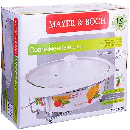 Мармит Mayer&Boch «Фрукты» 1,9 л из керамики 24226