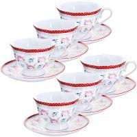 Чайный сервиз 150 мл, разных расцветок Lorain, 25921