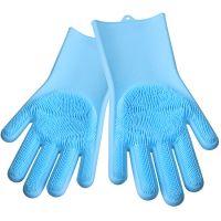 Перчатки силиконовые многофункциональные Mayer&Boch цвет голубой 29043