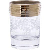 Набор стаканов для водки Mayer&Boch 6 шт прозрачные с золотым 1022/02