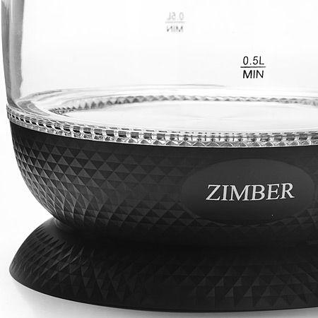 Электрический чайник 1,7л 2200Вт с подсветкой ZIMBER, 11181