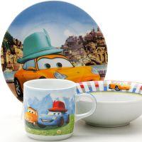 Набор детской посуды Loraine «Тачки» 25603
