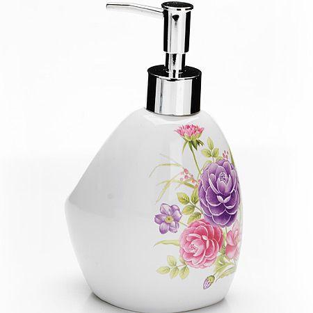 Дозатор для мыла Loraine «Камелия» 400 мл 26384