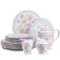Чайный набор Loraine с тарелкам 17 предметов Премиум 29136