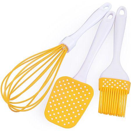 Набор кухонный Mayer&Boch 3 предмета материал силикон цвет желтый 28072-2