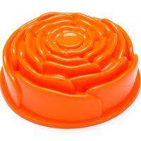 Форма для кекса оранжевого цвета 1,8 л 23х23 Mayer&Boch, 21976N3