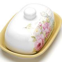 Маслёнка Loraine «Пионы» с крышкой 26325