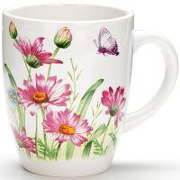 Кружка Loraine «Цветы» 310 мл 26238