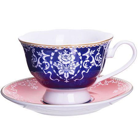 Чайная пара 4 предмета 220 мл LORAINE, 27875