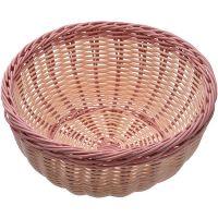 Корзина плетёная Mayer&Boch 24x10 см материал пластик цвет коричневый 28257