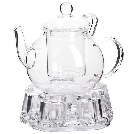 Чайник Mayer&Boch 600 мл из стекла с подогревом 29350