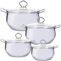 Набор посуды Mayer&Boch 8 предметов 1,3 л, 1,7 л, 2,4 л, 3,4 л 29351
