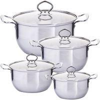 Набор посуды Mayer&Boch 8 предметов 1,2 л, 1,6 л, 2,2 л, 3 л 29352