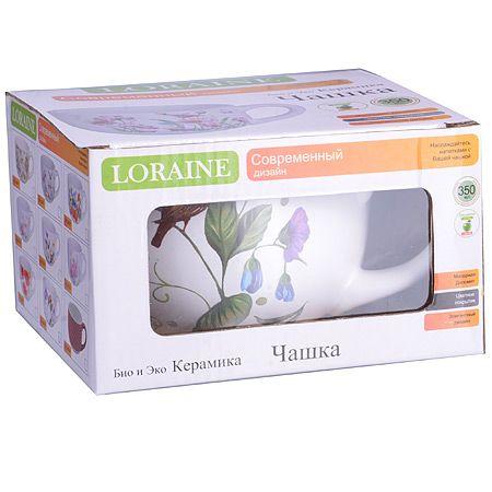 Кружка Loraine «Птичка» 350 мл 26609