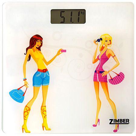 Электрические весы напольные 150 кг Zimber, 10815