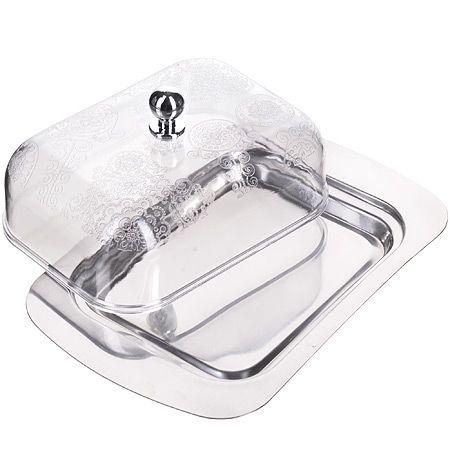 Масленка Mayer&Boch из нержавеющей стали и пластмассы 23517