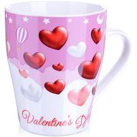 Кружка Loraine «Любовь» 340 мл материал фарфор в подарочной упаковке 28216