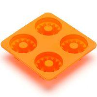Форма для выпечки 130 мл с ручкой из силикона, оранжевого цвета 8 Mayer&Boch, 26120N1