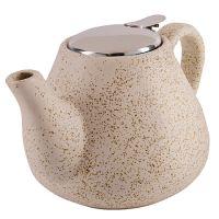 Заварочный чайник LORAINE 950 мл керамический бежевый 29358