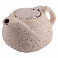 Заварочный чайник LORAINE 750 мл керамический бежевый 29359