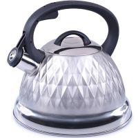 Чайник 2,6 л из нержавеющей стали со свистком Mayer&Boch, 28210