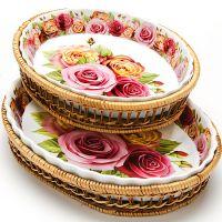 Набор овальных форм Mayer&Boch «Розы» 24802