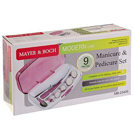 Маникюрный набор Mayer&Boch профессиональный 9 предметов 23425