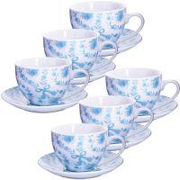 Чайный сервиз 220 мл, разных расцветок Lorain, 25923