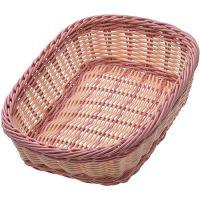 Корзина плетёная Mayer&Boch 26,5x19 см материал пластик 165 г 28249