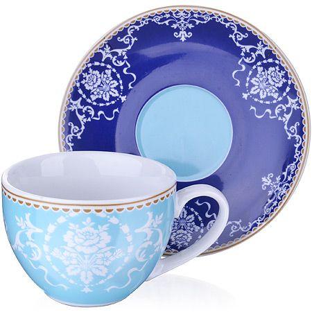 Чайная пара 4 предмета 220 мл LORAINE, 27874