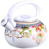 Чайник Эмаль 3л с крышкой Узор Mayer&Boch, 26488