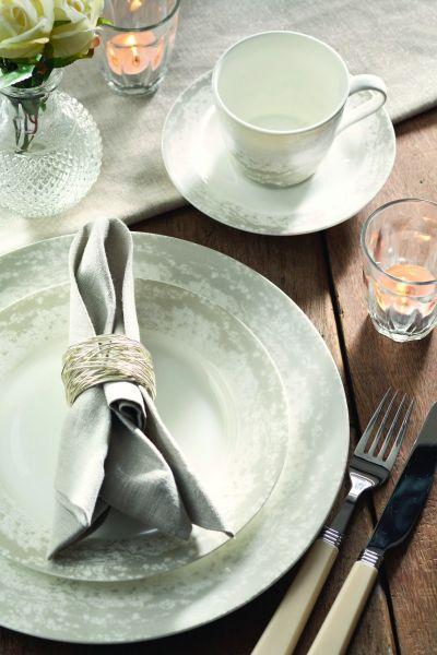 Чашка с блюдцем 200мл Эгломизе от Арлекин Churchill HARL00501
