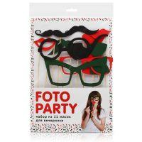 Набор масок Foto Party, 11 шт. Mel19-10