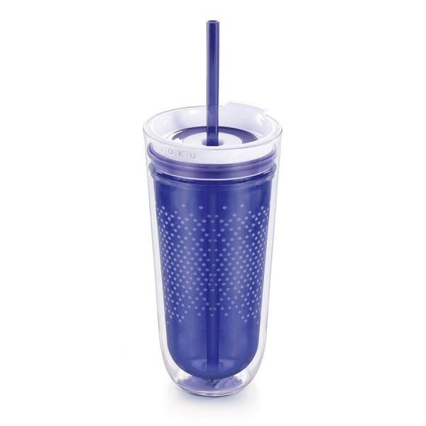 Стакан для напитков Tumbler дорожный цвет синий ZK127-BL