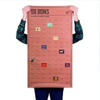 Постер «100 блюд, которые нужно попробовать, прежде чем умереть» DYPOSTDIE