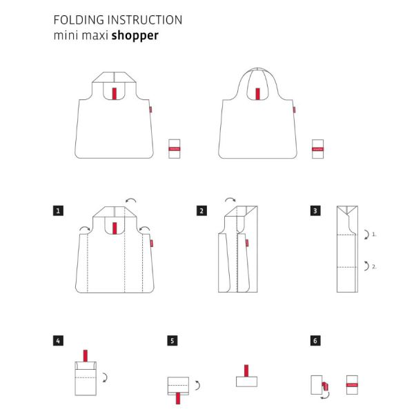 Сумка складная Mini maxi shopper confetti AT0023K