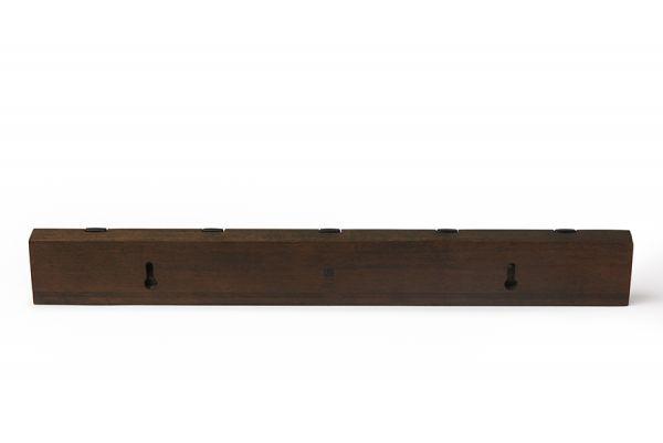 Вешалка Flip настенная горизонтальная 5 крючков орех 318850-048