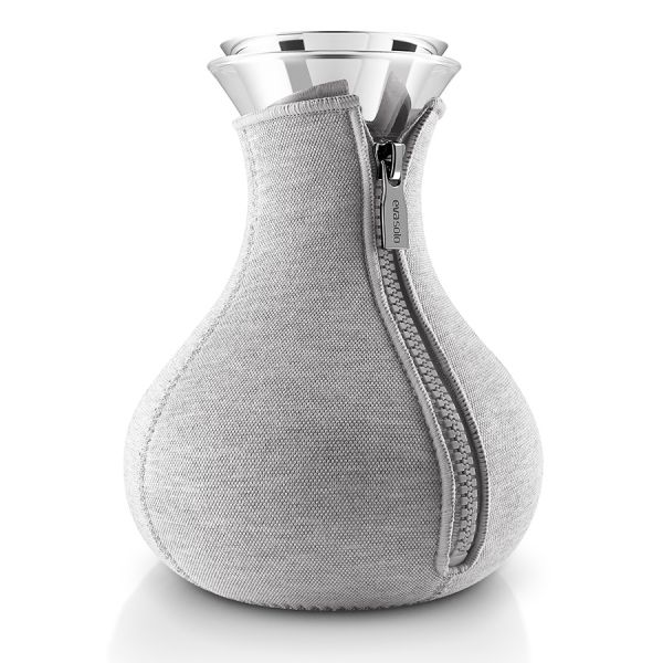 Чайник заварочный Tea maker в чехле 1 л светло-серый 567488