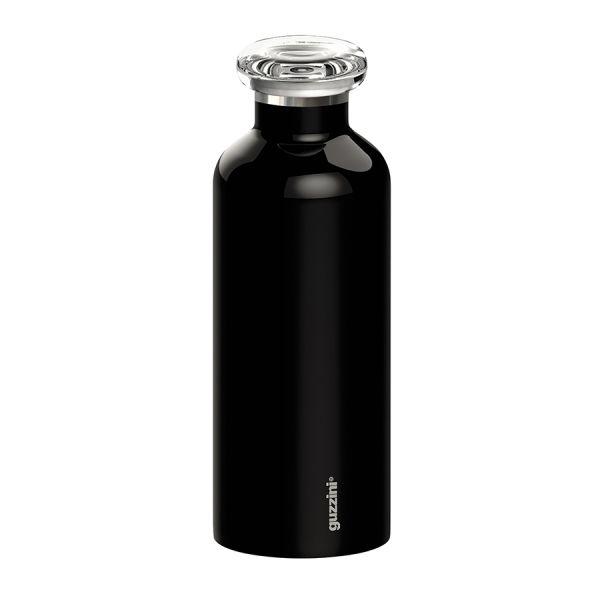 Термобутылка On the go 500 мл чёрная 11670010